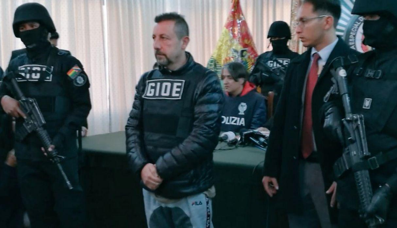 Detienen en Bolivia a Paolo Lumia, capo de la droga en Italia