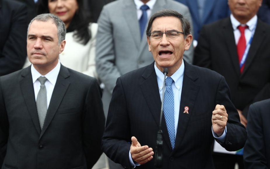 Martín Vizcarra clausuró la reciente edición del Gore Ejecutivo en Palacio de Gobierno | FOTOS