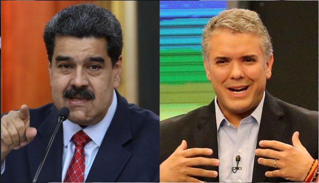 Maduro autoriza a las FF.AA. a responder 'desde todos los espacios' a Iván Duque