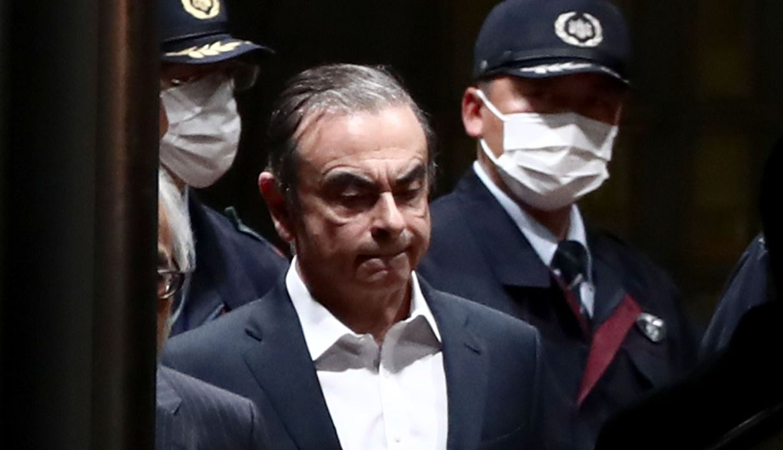 Japón: Ex presidente de Nissan, Carlos Ghosn, queda en libertad bajo fianza