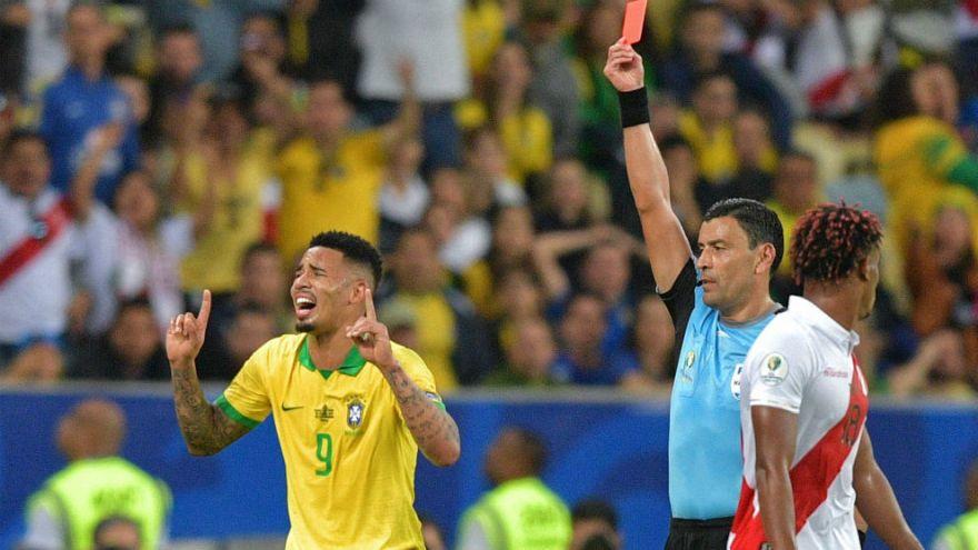 Selección de Brasil: Conmebol suspendió dos meses a Gabriel Jesús