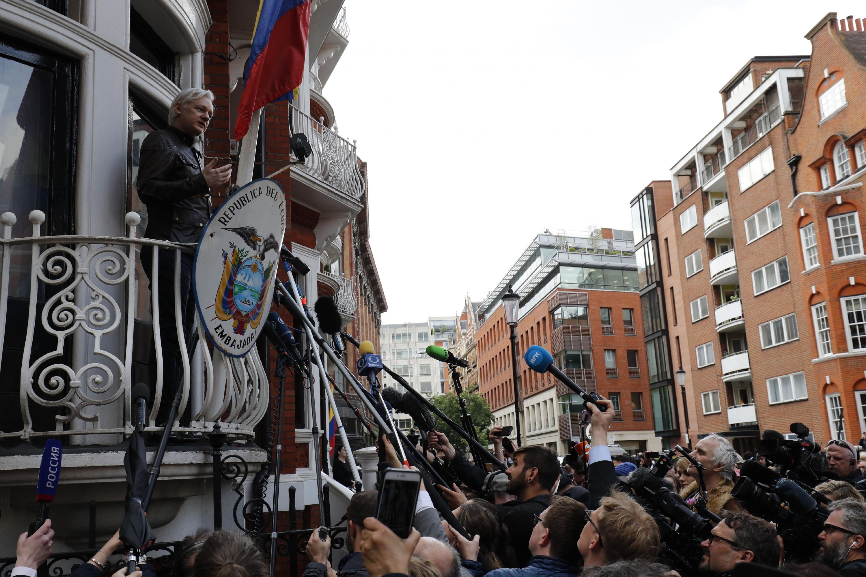 Julian Assange, fundador de WikiLeaks. (Foto: AFP)