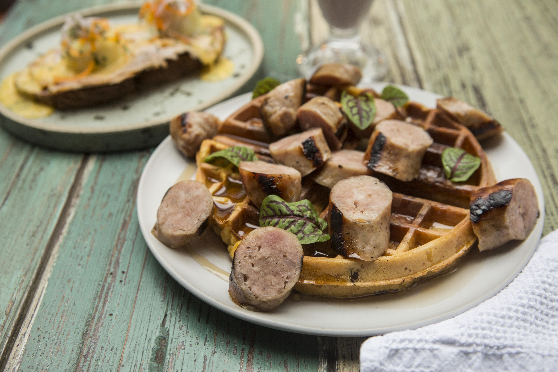 El desayuno carnívoro que se puede probar en un restaurante de San Isidro