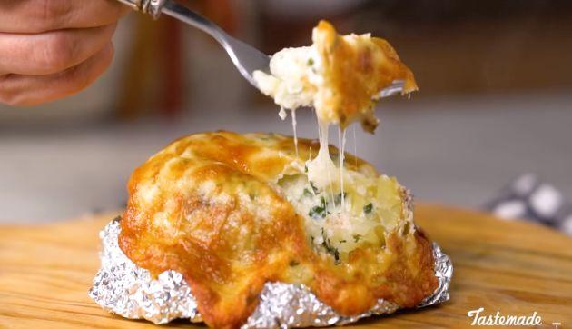 Una forma más sencilla de preparar una deliciosa papa rellena | RECETA Y VIDEO