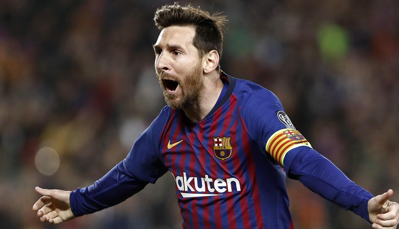Lionel Messi, goleador de la Champions League, participó en más de la mitad de los goles de Barcelona