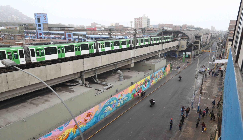 Metro de Lima: este jueves se reabrirá estación Gamarra tras operativo en Av. Aviación