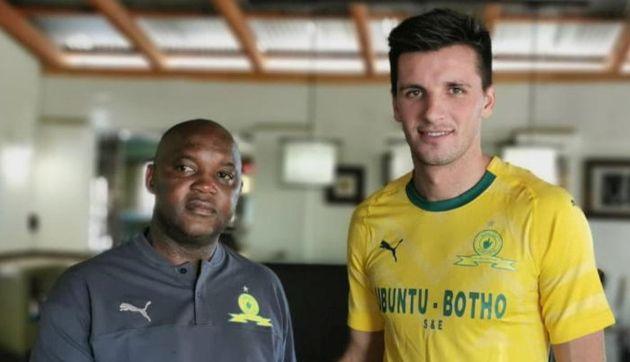 Alianza Lima: Mauricio Affonso fue presentado en el Mamelodi Sundowns FC de Sudáfrica