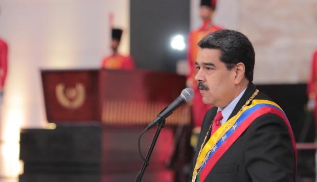 """""""Maduro está aislado y perdiendo amigos. Y la comunidad internacional está unida"""", afirmó el jefe del Comando Sur de Estados Unidos, Craig Faller. (Foto: AFP)"""