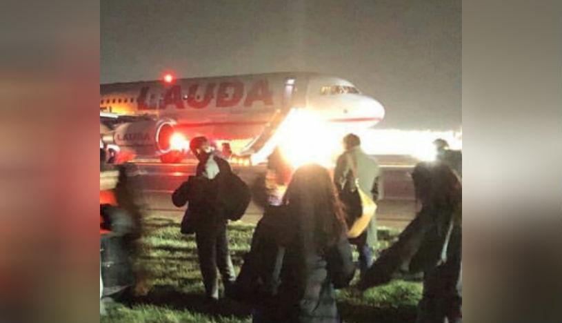 Avión sufre incidente al despegar en aeropuerto de Londres y deja ocho heridos