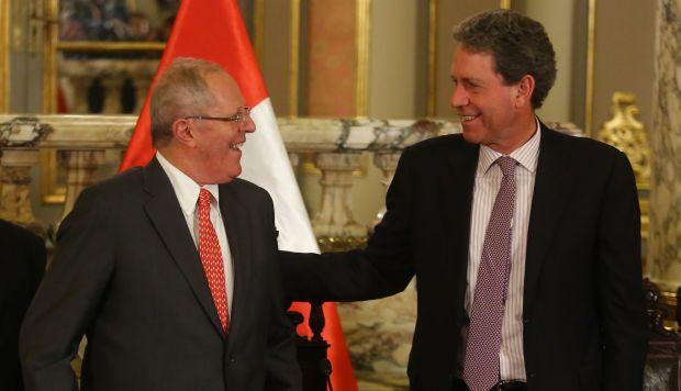 Alfredo Thorne visitó tres veces al expresidente PPK en los últimos cuatro meses. (Foto: GEC)
