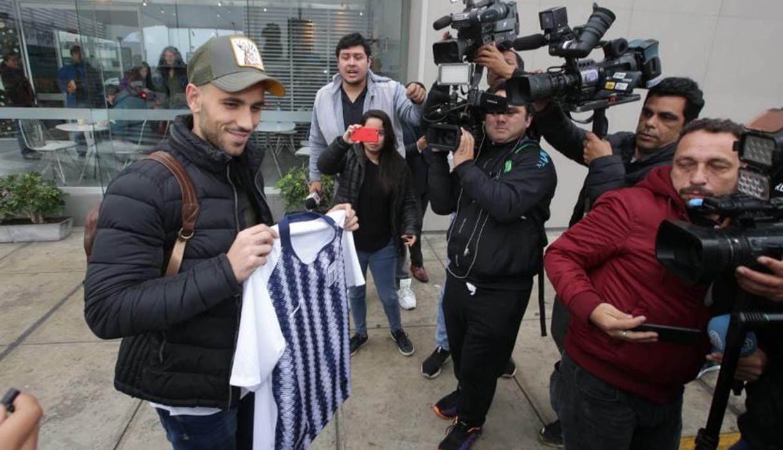 Alianza Lima: Federico Rodríguez llega al Perú para ponerse la blanquiazul | FOTOS