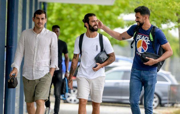 Iker Casillas se une a pretemporada del Porto dos meses después de sufrir un infarto