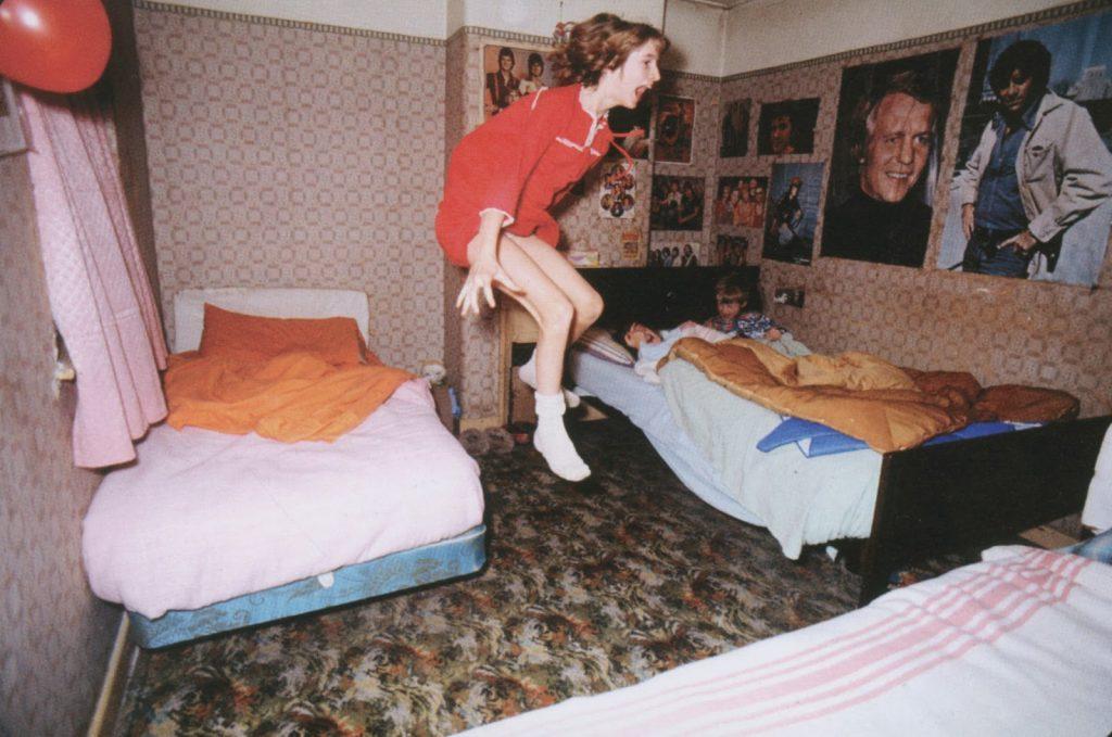 El poltergeist de Enfield hacía que los niños leviten sin razón aparente (Foto: Warren Files)