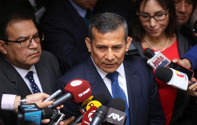 Ollanta Humala envía sus condolencias por fallecimiento del ministro José Huerta