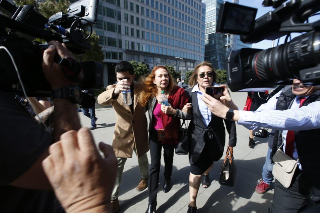 Así fue la llegada de Eliane Karp a la audiencia de Alejandro Toledo | FOTOS