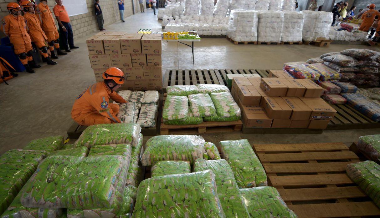 Más de 800 toneladas de ayuda entraron a Venezuela de contrabando