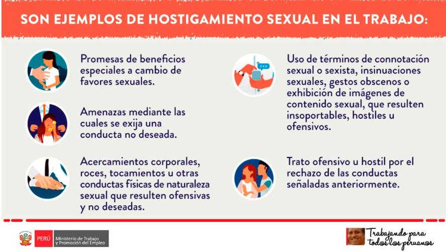 Hostigamiento sexual.