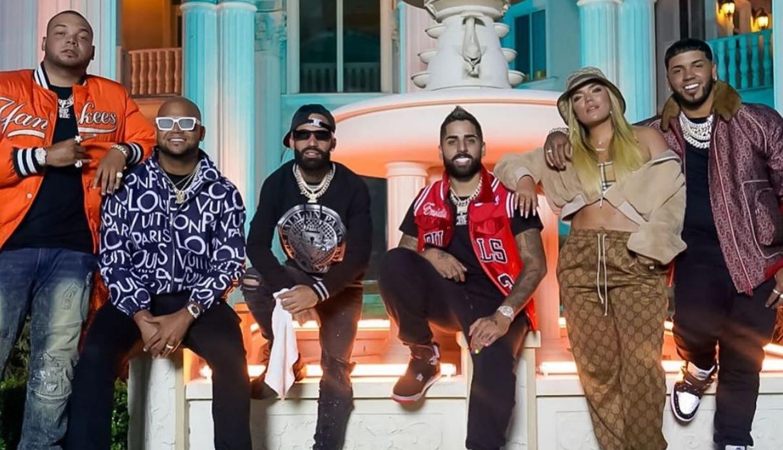 """Karol G, Anuel AA y Arcángel estrenan videoclip de la canción """"Tu no amas"""""""