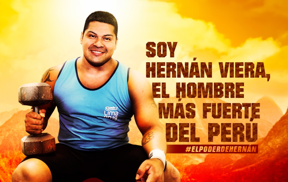 El hombre más fuerte del Perú: Conoce a Hernán Viera, la máquina de la halterofilia [HISTORIA]