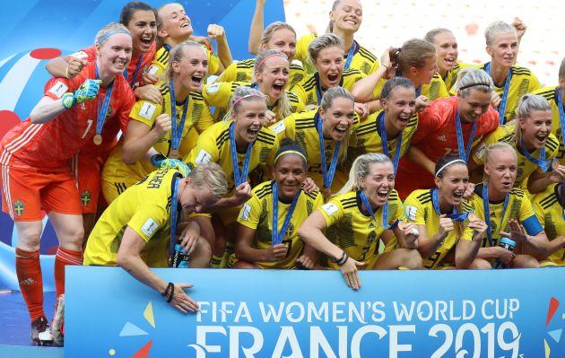 Suecia vence a Inglaterra por 2-1 y gozan del tercer lugar del Mundial Femenil