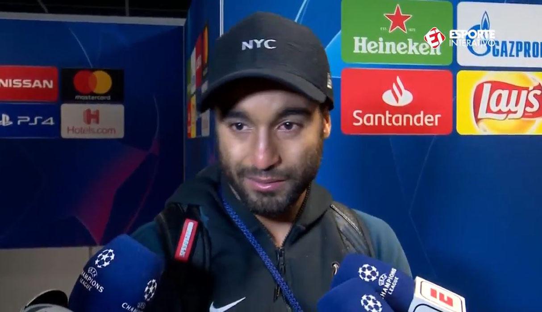 Lucas Moura llora al ver su gol ante Ajax que clasificó al Tottenham a final de Champions | VIDEO