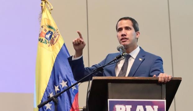 Juan Guaidó, presidente de la Asamblea Nacional, se proclamó en enero como presidente encargado en un audaz desafío a Maduro. (Foto: AFP)