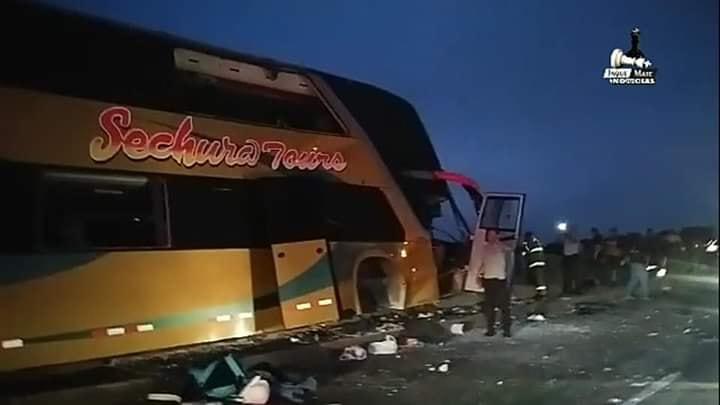 Alan García: al menos 6 muertos dejó accidente de bus con delegación aprista