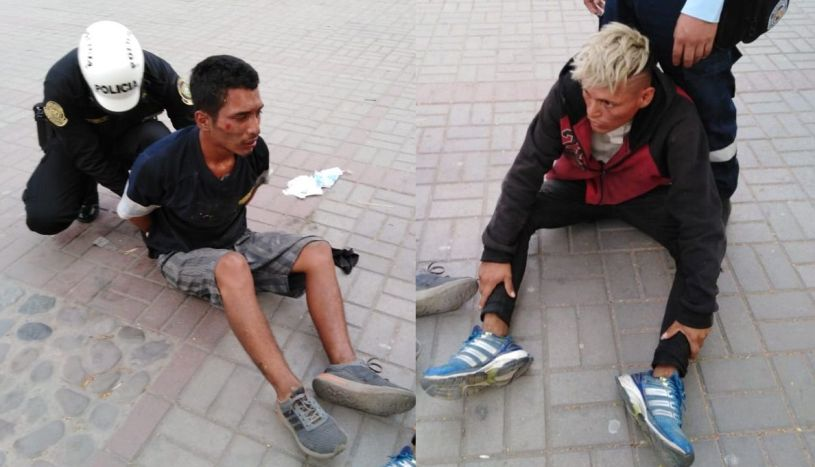 Surco: capturan a delincuentes que golpearon a mujer para robarle su celular