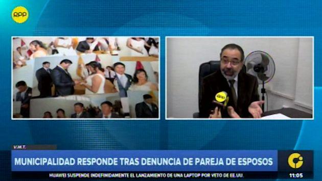 Villa María del Triunfo: esposos denuncian a municipalidad por no registrar matrimonio | VIDEO