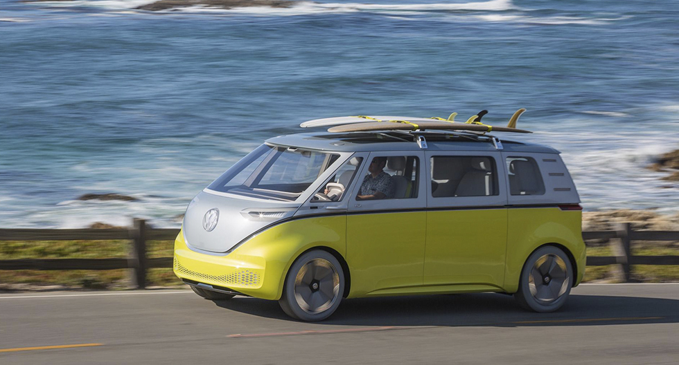 Volkswagen Microbus: la Kombi eléctrica llegará pronto a producción | FOTOS