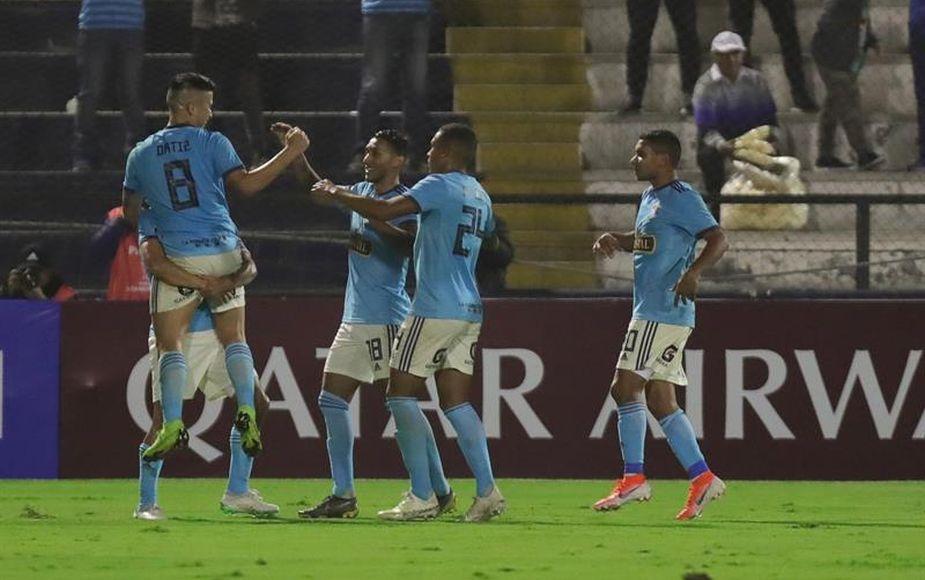 Sporting Cristal avanza a octavos de Sudamericana al golear 3-0 a Unión Española