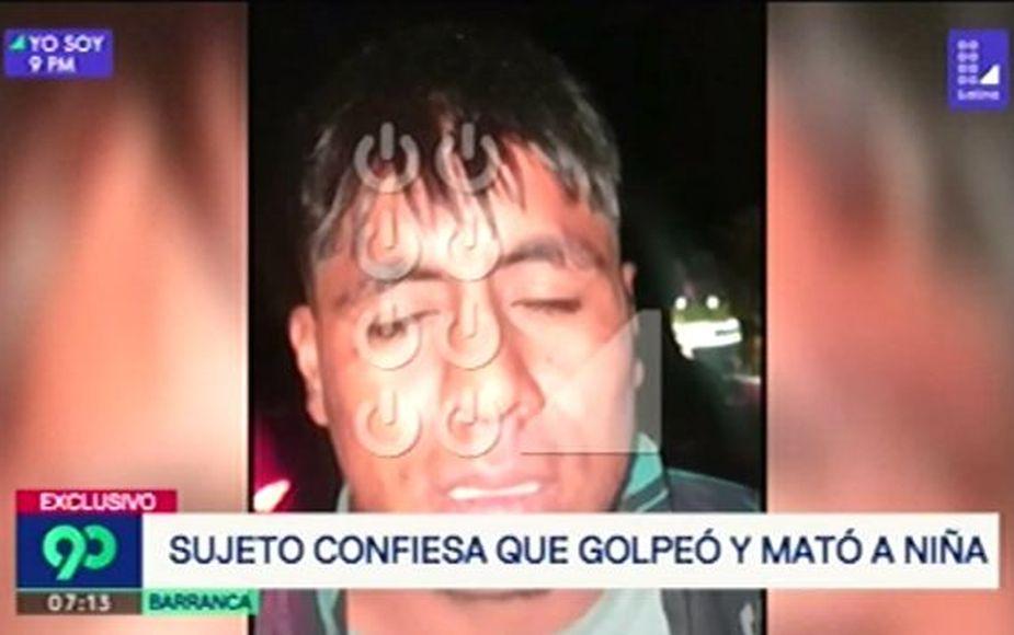 Barranca: la confesión a sangre fría del sujeto que mató a niña de 10 años [VIDEO]
