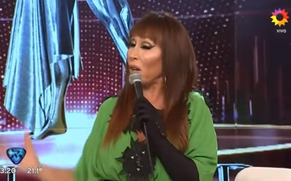 Moria Casán asegura que tiene orgasmo en vivo