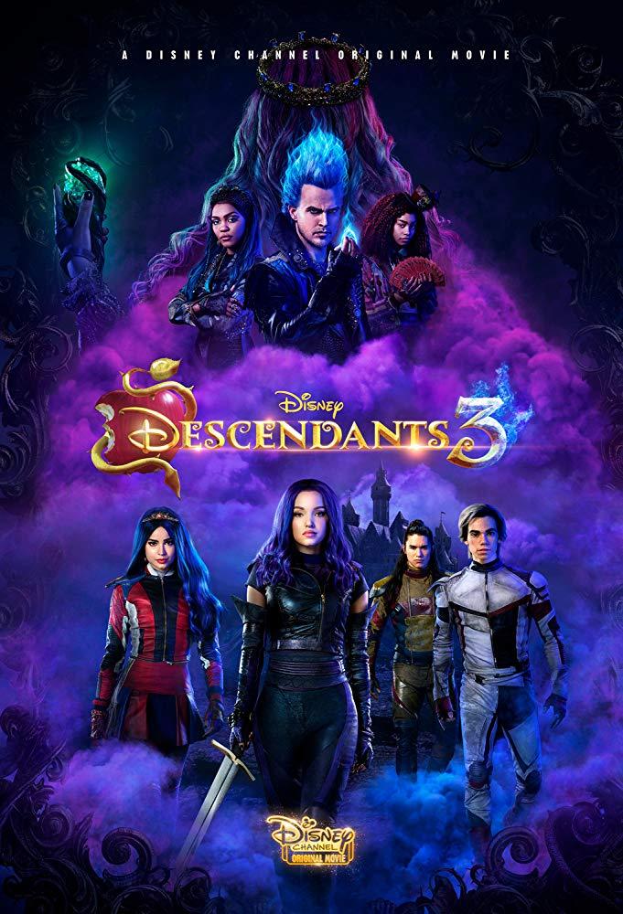 """Dove Cameron, Sofia Carson, Booboo Stewart y Cameron Boyce son los protagonista de la trilogía """"Descendientes"""" (Foto: Disney)"""
