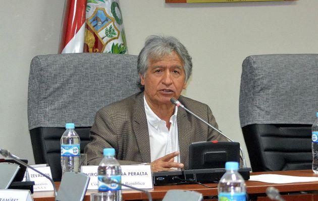 Virgilio Acuña sobre Antauro Humala: 'Nos une una buena amistad'