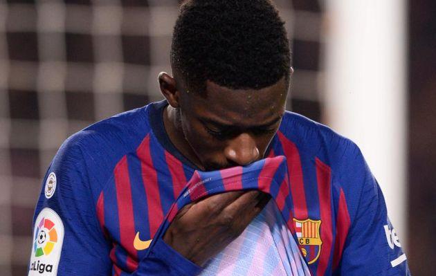Barcelona: Ousmane Dembélé se perderá estos partidos tras lesión