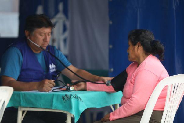 EsSalud instala 'Hospital Perú' para atender a familias por heladas en Andahuaylas | FOTOS