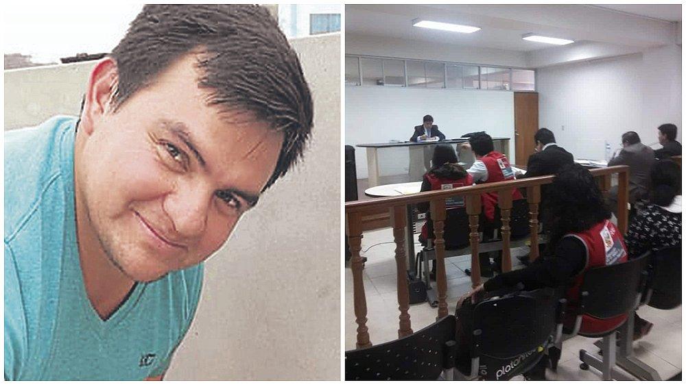 Joel Santillán Silva, médico acusado de violación sexual a menor en La Libertad.   Composición