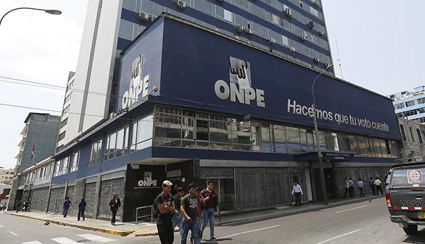 ONPE: 109 autoridades electas no entregaron ingresos y gastos de campaña