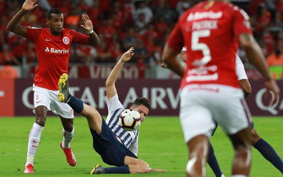 Alianza Lima cayó 2-0 de visita ante Internacional de Brasil por Copa Libertadores