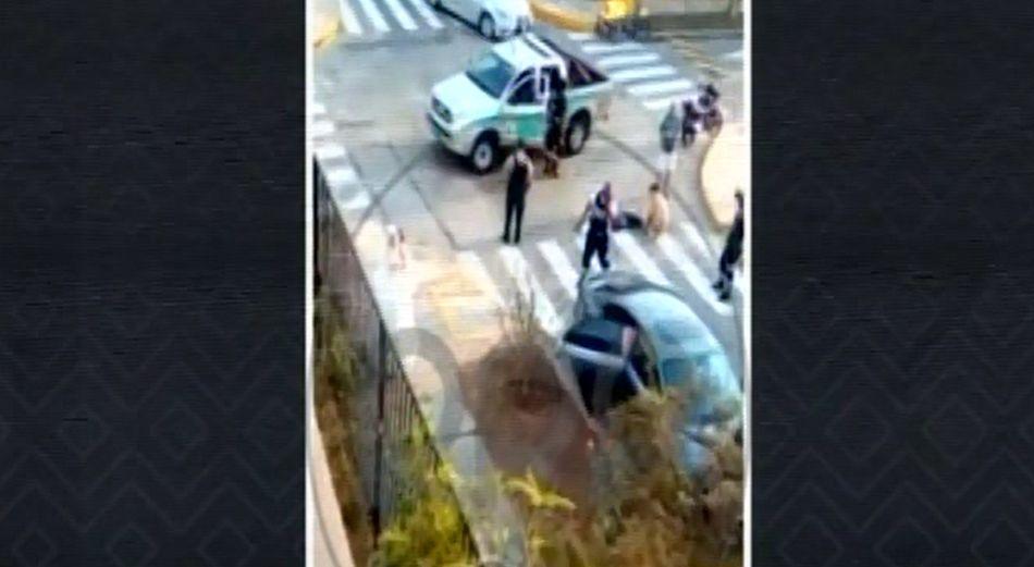 San Borja: sereno denuncia que habría sido atropellado por vehículo del Mininter