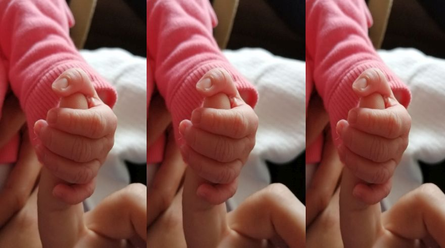 Nació Victoria, nuestra bebé, por Adriana Garavito