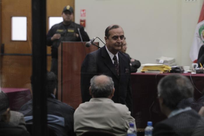 Vladimiro Montesinos juicio caso de matanza en barrios altos | Autor: Giuliano Buiklece