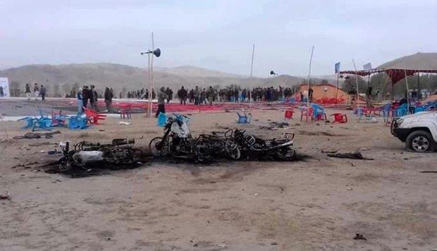 Afganistán: Al menos 14 muertos en atentado con bomba en mitin de campaña