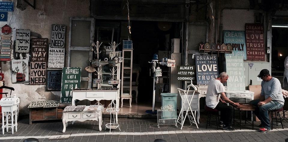 Las tiendas vintage se han convertido en un negocio muy rentable. (Foto: Pixabay)