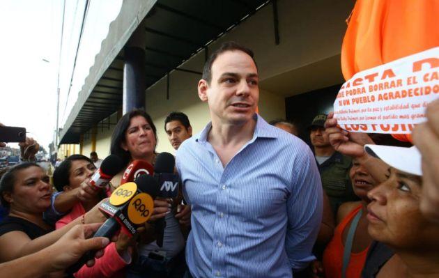 Dejan a voto el pedido de apelación contra impedimento de salida del país de Mark Vito