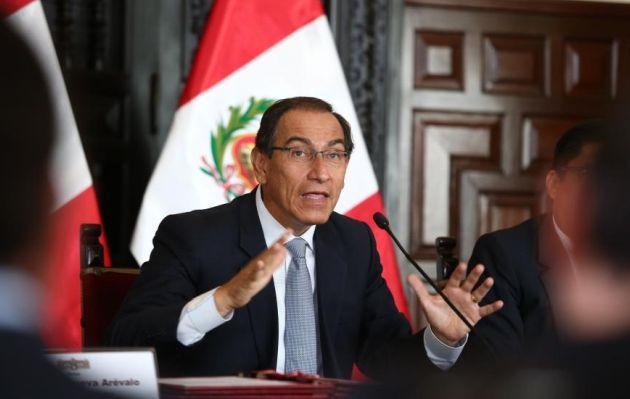 Congreso autoriza viaje de Vizcarra a Panamá