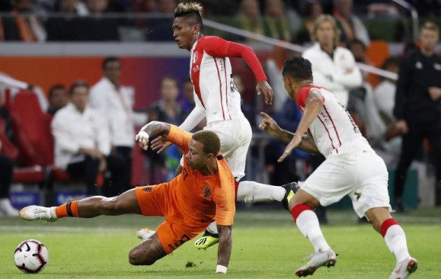 Perú cayó 2-1 ante Holanda en amistoso internacional en Ámsterdam