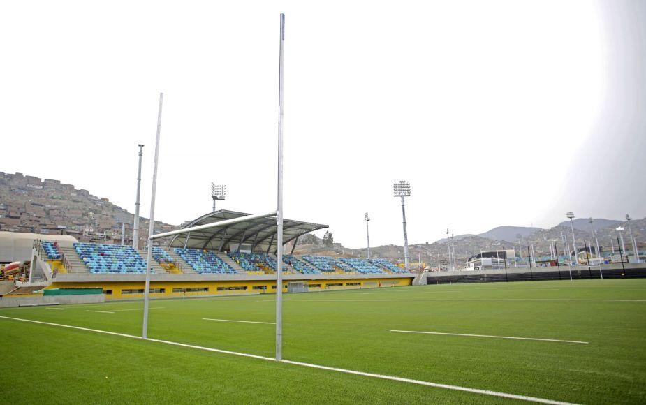 Lima 2019 ya cuenta oficialmente con canchas de Rugby 7 en Villa María
