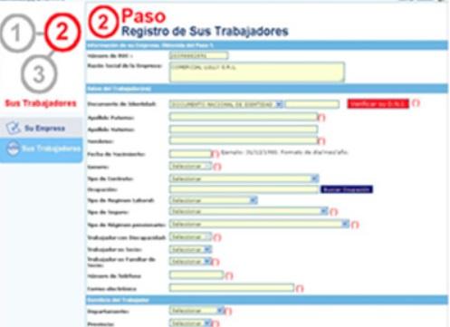 Este es el Registro de trabajadores (Foto: Ministerio de Trabajo y Promoción del Empleo)